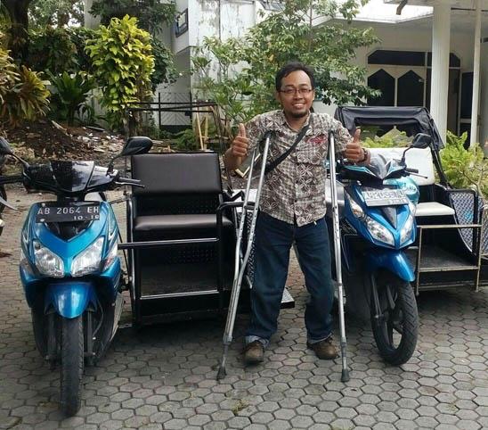 Difa City Tour dan Transport, Ojeknya Kaum Difabel dari Jogja